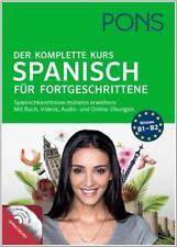 NEU: PONS Der komplette Kurs - SPANISCH lernen und vertiefen - Aufbau-Sprachkurs