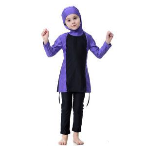 Girls Child Muslim Islam Swimwear 6 - 7 Year Old Bath Swimsuit Full Cover Beach
