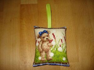 Geschenkanhänger 8x9cm - Teddy - Geschenke - Mitbringsel - Deko