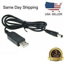 USB DC 5V to DC 12V Step up Module Converter 2.1x5.5mm Male Connector Plus MF