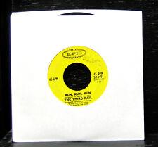 "The Third Rail - Run, Run, Run / No Return VG 7"" Vinyl Record 1967 Epic 5-10191"