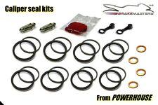 Honda CBR600 RR front brake caliper seal rebuild repair kit set 2010 RRA