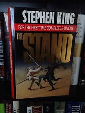 Stephen King The Stand Complete & Uncut 1st Ed. HC 1990