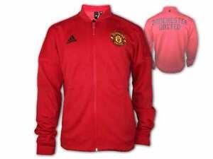 adidas Manchester United ZNE H Jacket rot Man Utd. Training Fan Jacke Red Devils