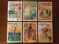 BICYCLE THEME VINTAGE SET OF 20 RETRO POSTCARDS - UNIQUE COLLECTORS EDITION