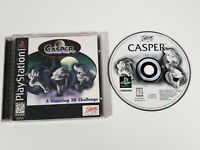 Casper (Sony PlayStation 1, 1996 PS1) - Complete w/ Manual, Tested