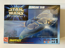 AMT ERTL Snapfast Star Wars Episode 1, GUNGAN SUB 1/48 scale Model Kit 30119