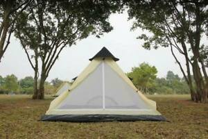 2 person tent Tipi camping tent beautiful design mesh door & vents waterproof