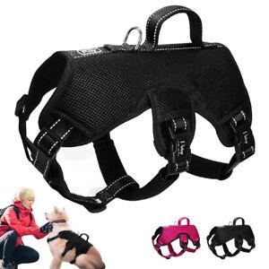 Dog Harness &Lift Harness No Pull Padded Vest Adjustable for Medium Large Breeds