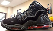 ~!RARE Nike Air Max UPTEMPO 97 Black/Red Robinson Pippen Jordan IV 3 III.Size 11