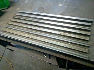 "8x 750mm x 22mm x 22mm x 1.5mm (7/8"" x 7/8"" x 16G) ERW Square Steel Box Section"