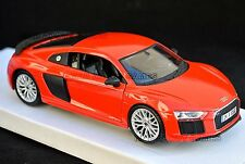 AUDI R8 V10 Plus 1:24 Scale Diecast Model Die Cast Mar Models Miniature Red