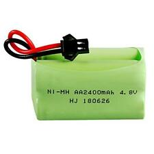 4.8V 2400mAh Rechargeable Ni-MH AA Battery Pack With SM 2P Plug For RC Toys