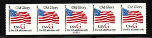 1994 Sc 2892 G Rate (32c) plate no. S2222 PNC5 Old Glory PNC5