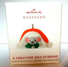Hallmark 2019 -  A CREATURE WAS STIRRING #6  - Miniature Ornament - NEW IN BOX