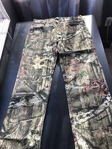 Mossy Oak Breakup Infinity Pants 5 Pocket Camo Pants Men's Size 34 x 32