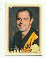 2012 SANFL ETERNITY HALL OF FAME GLENELG PETER CAREY HF200 CARD FREE POST