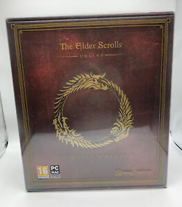 The Elder Scrolls Online Imperial Collectors Edition with Statue PC Mac #H1/19