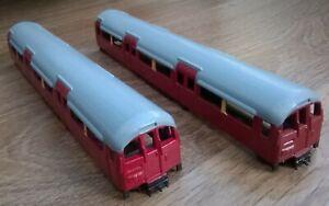 London Transport Underground tube train Central Line 1960 stock 2 car bodies