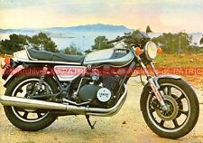 YAMAHA XS 750 ( DOHC ) (1) Carte Postale Moto Motorcycle Postcard