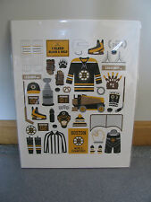 Boston Bruins Art Print - 11X14 - Open to Offers