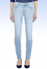 MiH Jeans Women's Breathless Low Rise Skinny JEAN - Broken Wash - Size 31