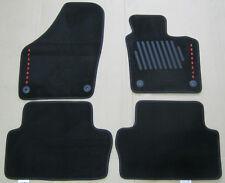 NEW GENUINE SEAT ALHAMBRA 7N FRONT + REAR BLACK CARPET MATS SET