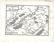 Antique maps, Gouvernement de Ville Franche
