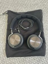Bang & Olufsen Beoplay H6 On-Ear wired. Headphones - Black Leather (Used)
