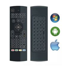 Air Mouse Backlit Wireless Keyboard Infrared USB Remote Control
