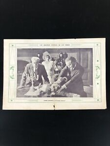Harry Houdini 1919 The Master Mystery Promotional In Magazine EX RARE