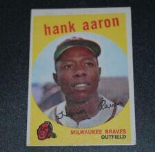 1959 topps hank Aaron #380 EX/NM