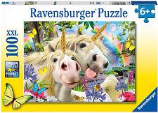 NEW Ravensburger 12898 Unicorn Selfies Worry, Be Happy XXL 100pc Jigsaw Puzzle