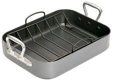 Roasting Tin Pan Non-Stick with Drip Rack Master Class Teflon Cook Roast Meal