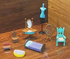 *Lot of 8* Walt Disney Princess's & More Lot of Small Furniture Made For Dolls!