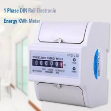 10(40)A DIN-Rail Compteur électrique Monophasé Compteur d'énergie Monophasé
