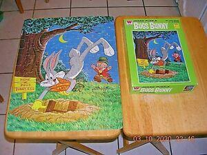 Bugs Bunny 100 Pc Puzzle Vintage 1963 Whitman Complete 4609