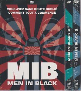 Men In Black Trilogie 1 2 3 Dvd Will Smith NEUF Tommy Lee Jones