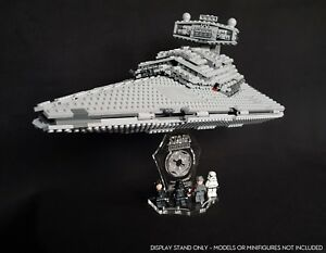 Display stand 3D +slots for Lego 75055 Star Destroyer - Imperial (Star Wars)