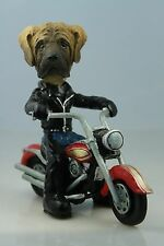 MASTIFF ON A   MOTORCYCLE SEE ALL BREEDS & BODIES @ EBAY STORE