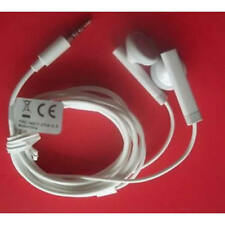 Genuine Original ZTE HMZ17-CTIA 3.5mm Stereo Headset - White Iphone Samsung