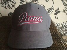 Puma Script fitted Golf cap grey large/extra large