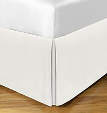 Today's Home  Basic Cotton Rich Tailored 14-in. Bed Skirt Twin XL Ivory *NWT*