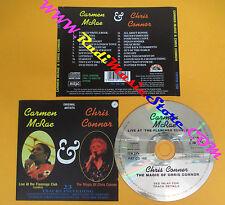 CD CARMEN MCRAE & CHRIS CONNOR Omonimo Same 1994 Uk FAT no lp mc dvd vhs (CS52)