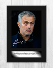 Jose Mourinho A4 signed photograph picture poster. Choice of frame.