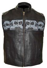 935 Men's Reflective Skull Vest