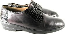Solidus Naturkomfort Women Shoes Size 6 Black Lace-up Oxfords