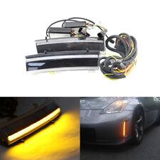 Switchback Led Front Daytime Running Lights For Nissan 350Z 06-09 W/ Turn Signal