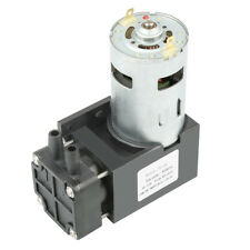 40L/min ölfrei Vakuumpumpe 42W DC 12V Minipumpe für Medizin Sauerstoffgenerator