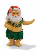 Kc Hawaii Hand Painted Hula Santa Ornament